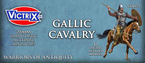 Victrix- Ancient Gallic Cavalry -Warriors of the Antiquity (VXDA033)