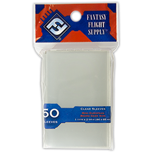 FFG Mini European Board Game Sleeves [clear]