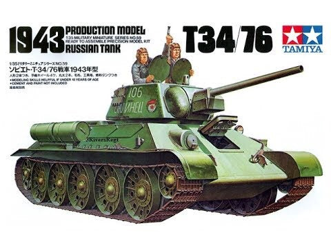 Tamiya 1/35 - T34/76: www.mightylancergames.co.uk