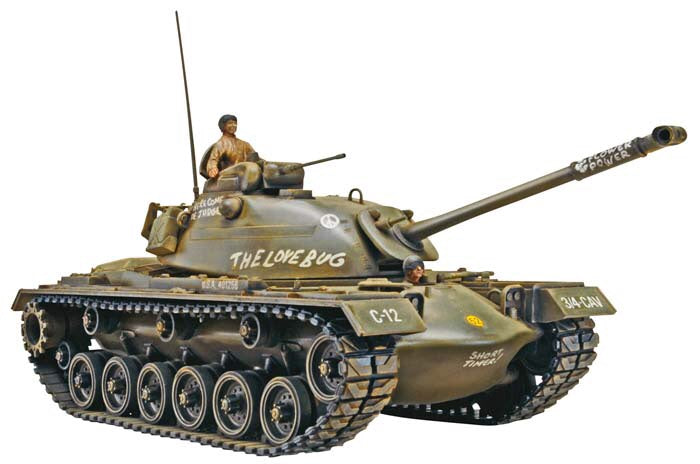 Monogram 1/35 - M48A2 Patton Tank
