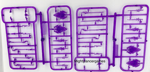 Reaper Miniatures Weapon Sprue- Purple