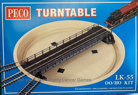 Turntable - OO / HO Gauge - Peco - LK55