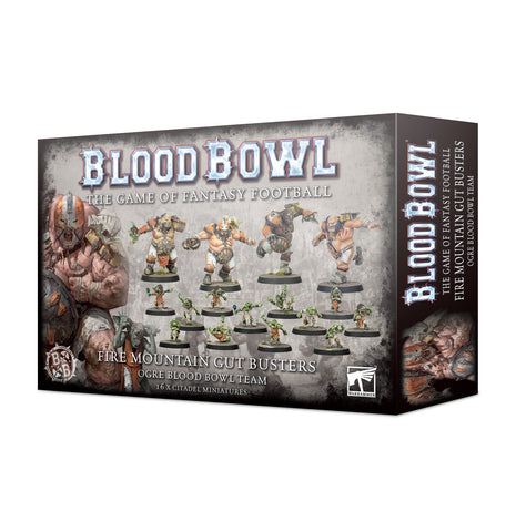 The Fire Mountain Gut Busters - Ogre Team (Blood Bowl) :www.mightylancergames.co.uk