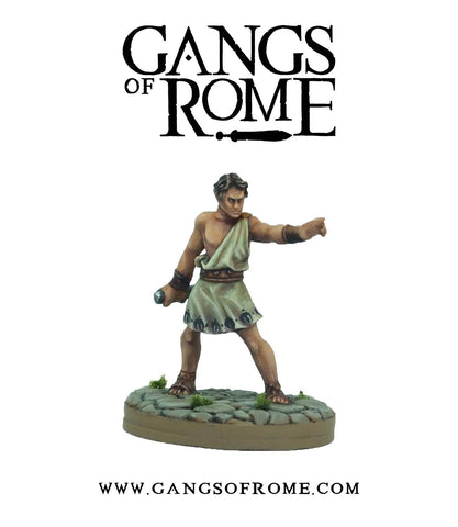 Fighter Quintus - Gangs of Rome: www.mightylancergames.co.uk