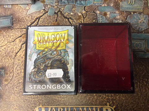 Dragonshield - Stongbox (Red)