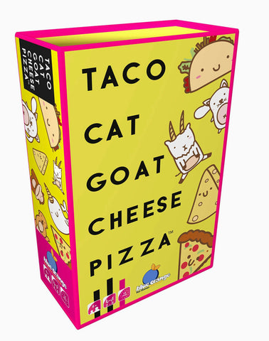 Taco Cat Goat Cheese Pizza - card game