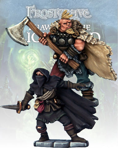 Frostgrave - Cult Thief & Barbarian: www.mightylancergames.co.uk