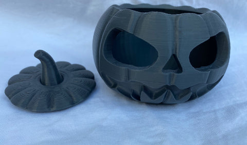 Pumpkin - BLACK- Halloween decoration