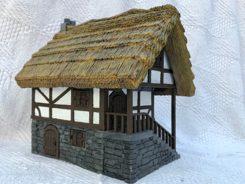 Fantasy Thatched Roof House