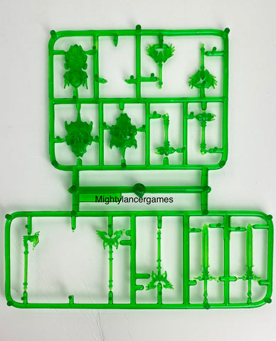 Reaper Miniatures Weapon Sprue- Green