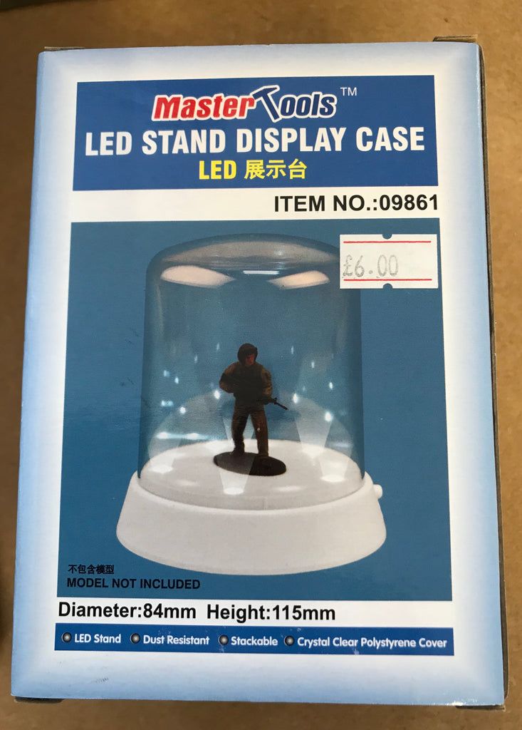 LED stand display case
