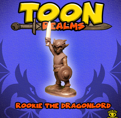 Rookie the Dragon Lord -Toon Realms: www.mightylancergames.co.uk