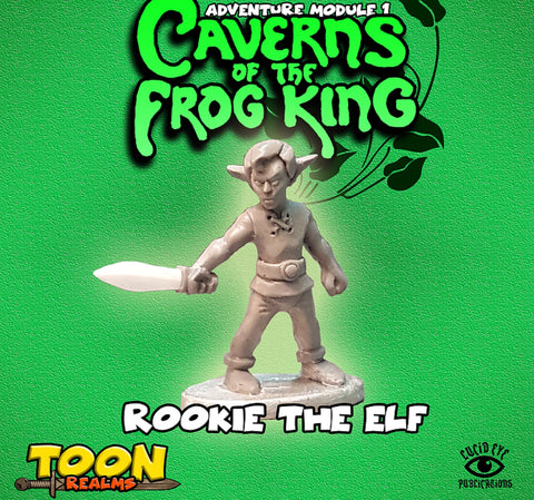 Rookie The Elf - Toon Realms: www.mightylancergames.co.uk