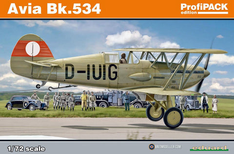 Avia Bk-534 - eduard kit 1/72 Profipack :www.mightylancergames.co.uk