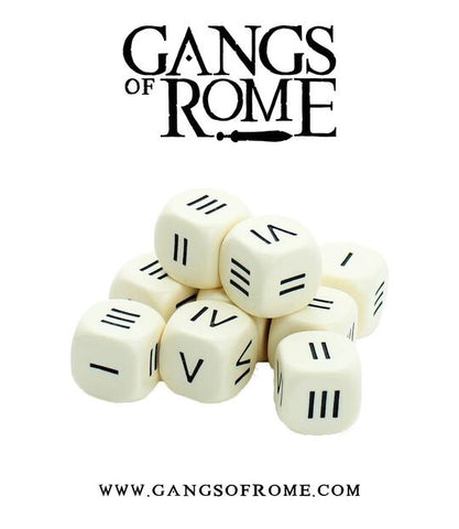 Gangs of Rome - Roman Numeral Dice