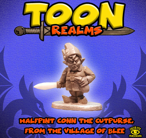 Halfpint Conn - Toon Realms: www.mightylancergames.co.uk