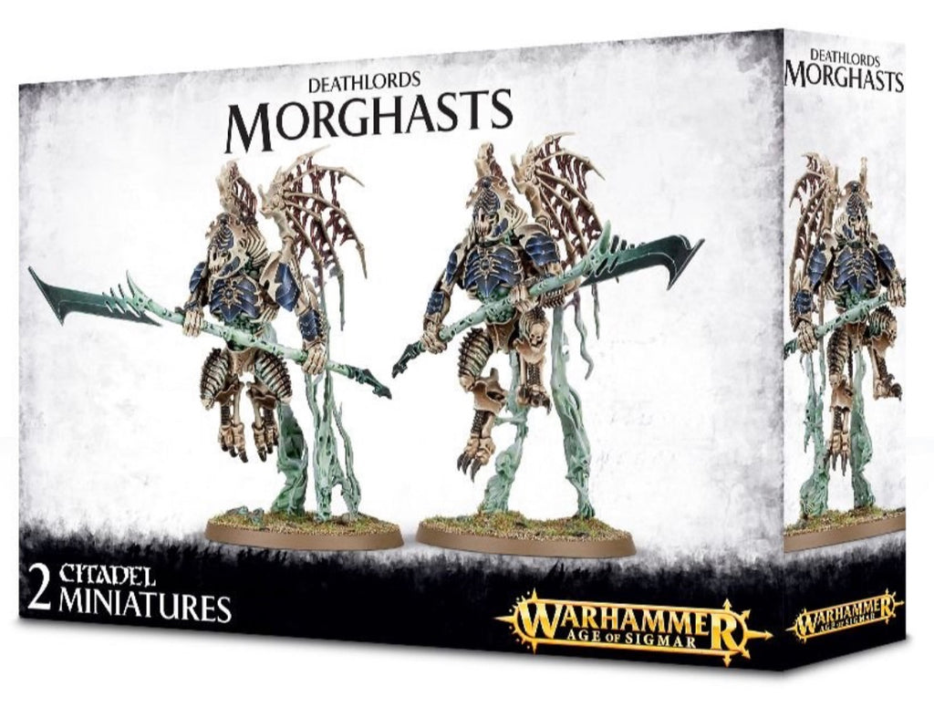 Morghasts - Ossiarch Bonereapers (Age of Sigmar) :www.mightylancergames.co.uk