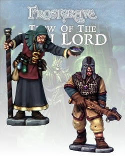 Frostgrave - Cult Apothecary & Marksman: www.mightylancergames.co.uk