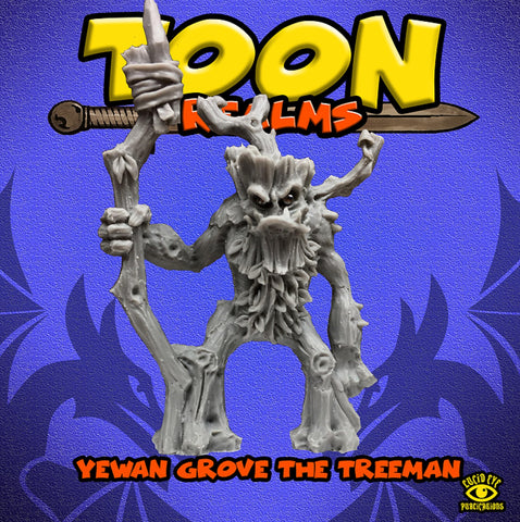 Yewan Grove The Treeman - Toon Realms Miniatures - Lucid Eye Publications