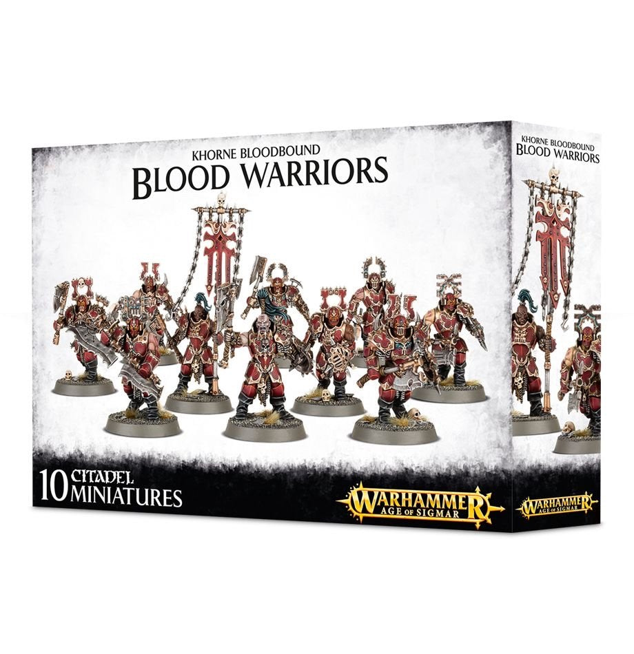 Blood Warriors - Blades of Khorne (Age of Sigmar) :www.mightylancergames.co.uk