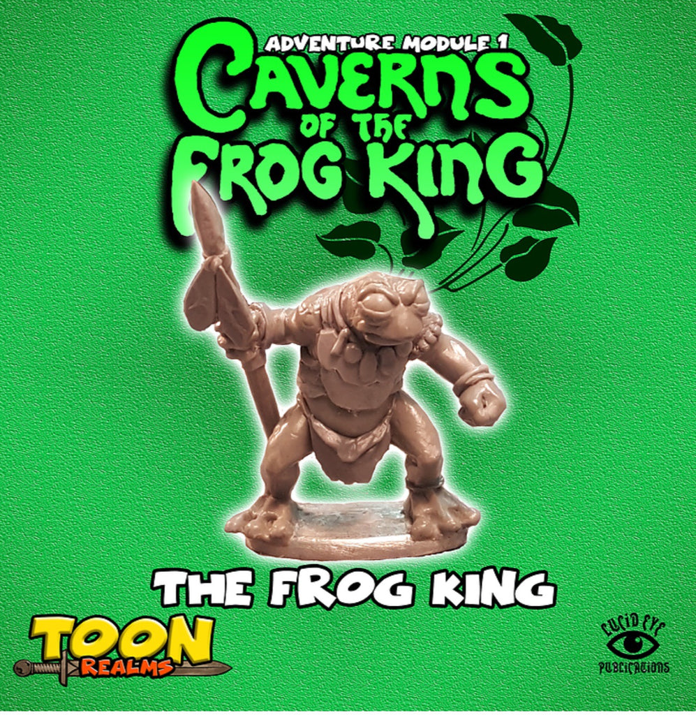 The Frog King - Toon Realms: www.mightylancergames.co.uk