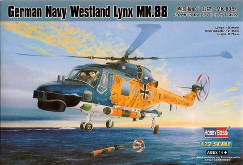 Germany Navy Westland Lynx MK.88 - Hobby Boss 1/72