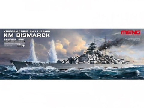 Meng model 1/700 - KM Battleship Bismarck