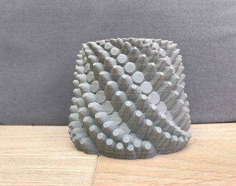 Dragon Pot - Unpainted- short spikes