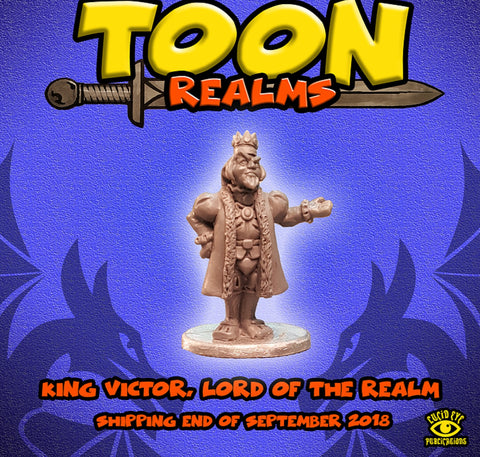 King Victor - Toon Realms: www.mightylancergames.co.uk