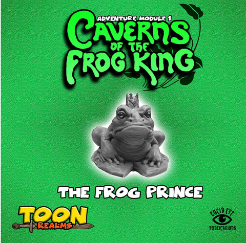The Frog Prince - Toon Realms: www.mightylancergames.co.uk