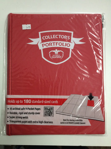 ULTIMATE GUARD 9 Pocket Collectors Portfolio - Red