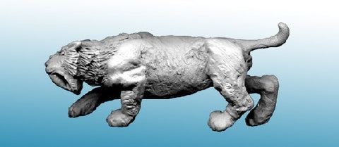 North Star Military Figures: Sabre Tooth Tiger Stalking -MP33