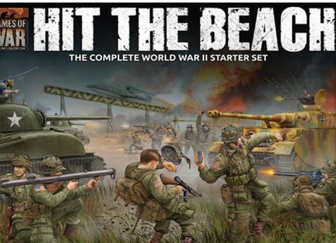 Hit The Beach (Flames of War Starter Set)