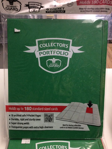 ULTIMATE GUARD 9 Pocket Collectors Portfolio - Green