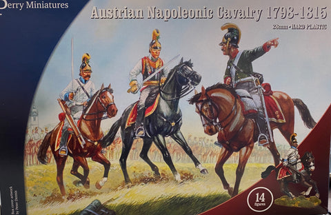 Austrian Napoleonic Cavalry 1798-1815- Perry Miniatures AN80