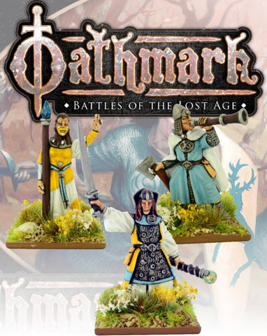 Elf King, Wizard and musician - Blister Pack (Oathmark OAK105) :www.mightylancergames.co.uk