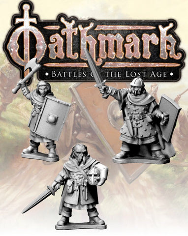 OAK108 - Human Champions (Oathmark) :www.mightylancergames.co.uk