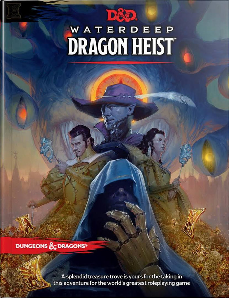 Waterdeep Dragon Heist - Dungeon & Dragons 5th Edition: www.mightylancergames.co.uk
