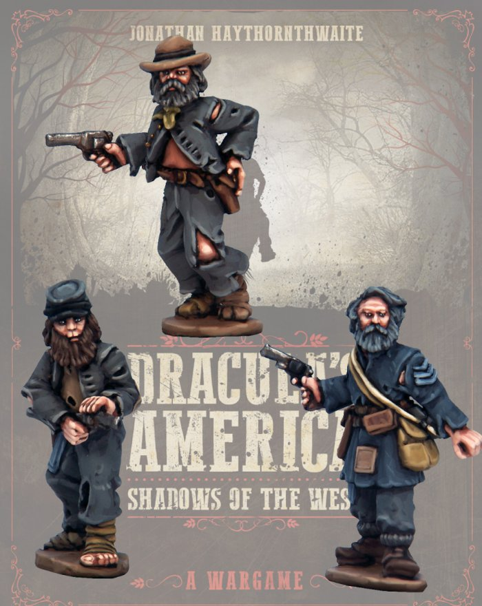 DRAC103 - Ragged Diehards - Blister Pack (Dracula's America - Shadows of the West) :www.mightylancergames.co.uk