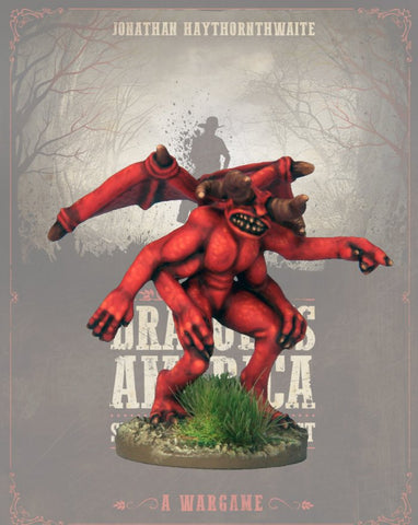 DRAC108 - Abyssal Behemoth - Blister Pack (Dracula's America) :www.mightylancergames.co.uk