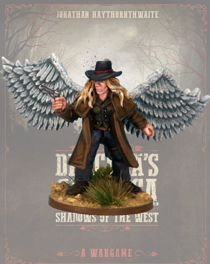 DRAC109 - Seraphim - Blister Pack (Dracula's America - Shadows of the West) :www.mightylancergames.co.uk