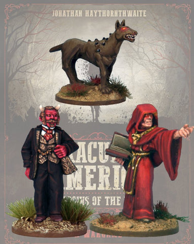 DRAC112 - Crossroads Cult - Blister Pack (Dracula's America - Shadows of the West) :www.mightylancergames.co.uk