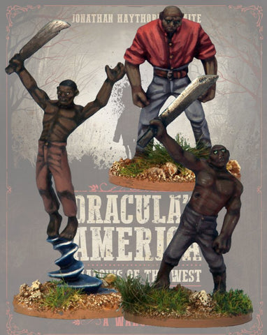 DRAC115 - Zombi - Blister Pack (Dracula's America - Shadows of the West) :www.mightylancergames.co.uk