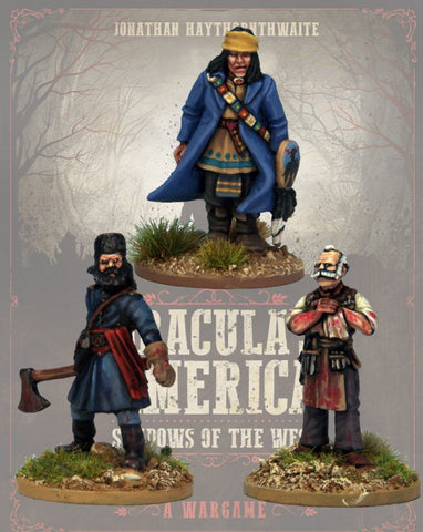 DRAC116 - Hired Guns  - Blister Pack (Dracula's America - Shadows of the West) :www.mightylancergames.co.uk