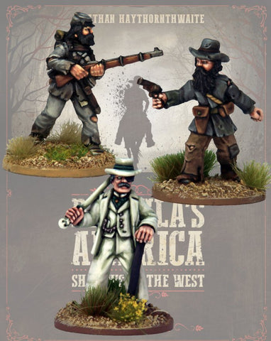 DRAC117 - Dark Confederacy  - Blister Pack (Dracula's America - Shadows of the West) :www.mightylancergames.co.uk