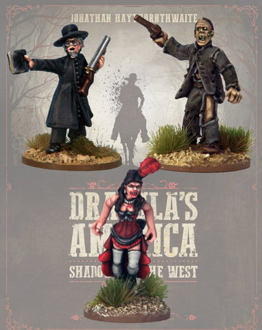 DRAC118 - Dracula's America Characters - Blister Pack (Dracula's America - Shadows of the West) :www.mightylancergames.co.uk