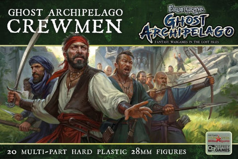Frostgrave - Ghost Archipelago Crewmen: www.mightylancergames.co.uk