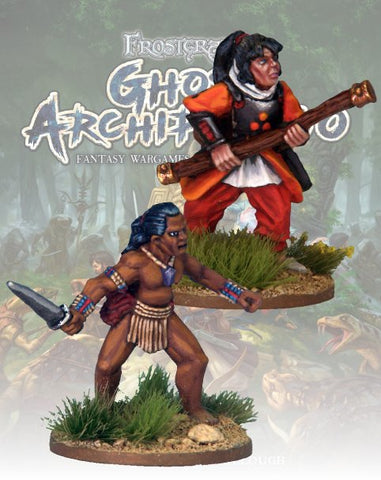 Pearl Diver & Guide - FGA302 (Ghost Archipelago) :www.mightylancergames.co,uk