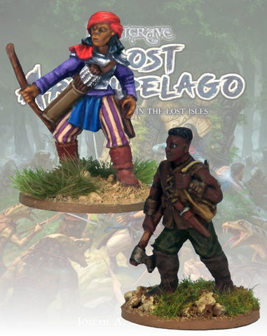 Tomb Robber & Scout - FGA303 (Ghost Archipelago) :www.mightylancergames.co.uk