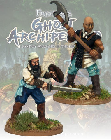 Freebooter & Mercenary - FGA303 (Ghost Archipelago) :www,mightylancergames.co.uk
